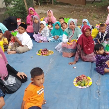 Santunan Anak Yatim dan Buka Bersama di Desa Dasun