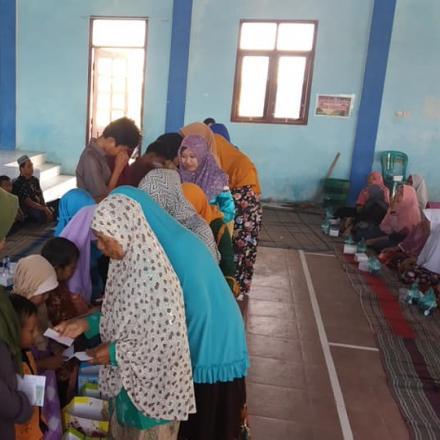 10 Muharam, Santunan Anak Yatim Desa Dasun