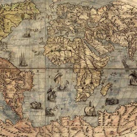 Peta dan Cara Manusia Memandang Dunia
