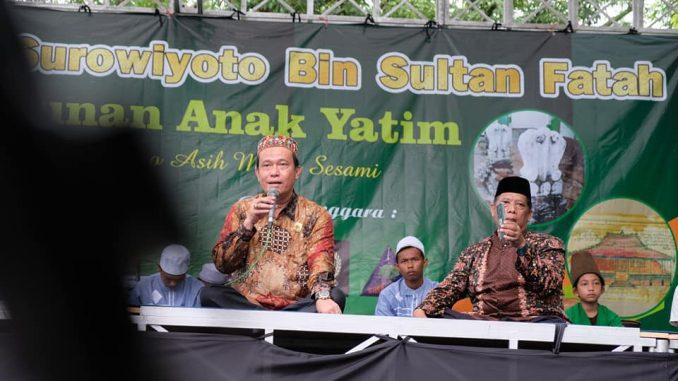 Haul Pangeran Surowiyoto bin Sultan Fatah dan Santunan Anak Yatim
