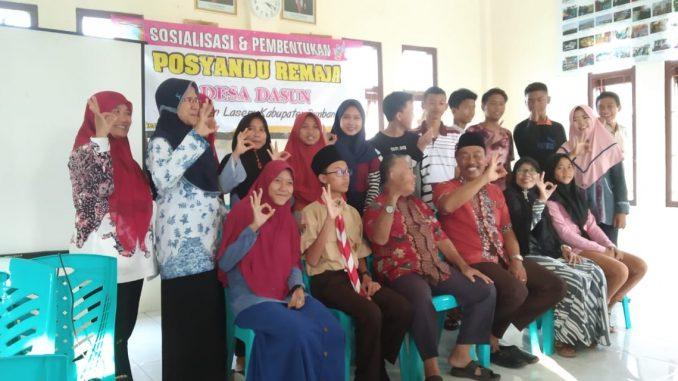 Sosialisasi dan Pembentukan Posyandu Remaja Desa Dasun Lasem Rembang