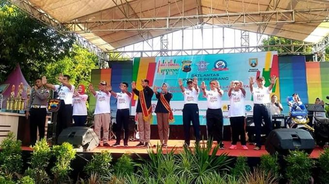 Milenial Safety Riding Festival di Rembang